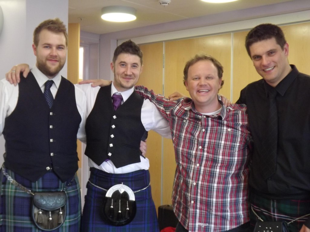 CBeebies Justin Fletcher Mr Tumble with The Jiggers Ceilidh Band