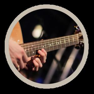 guitarist in ceilidh band